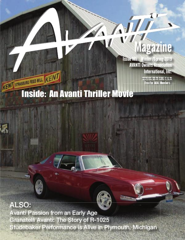 Avanti Magazine Winter/Spring 2019 #185