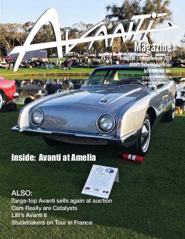 Avanti Magazine Spring/Summer 2019 #186