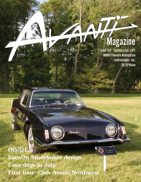 Avanti Magazine Summer/Fall 2011 #155