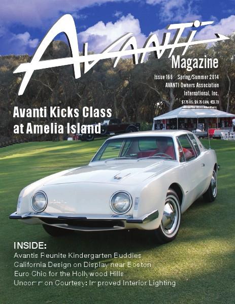 Avanti Magazine Spring/Summer 2014 #166