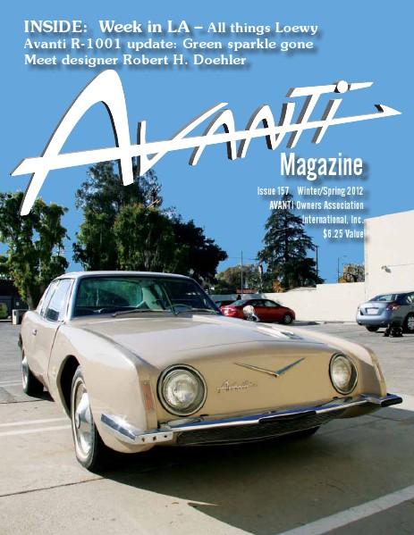 Avanti Magazine Winter/Spring 2012 #157