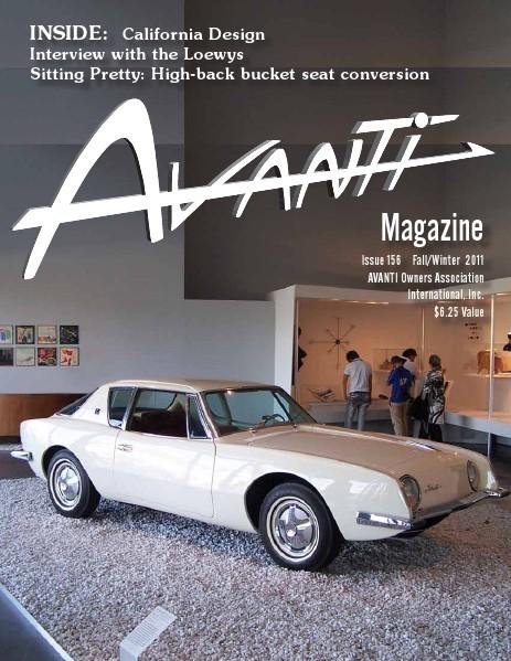 Avanti Magazine Fall/Winter 2011 #156