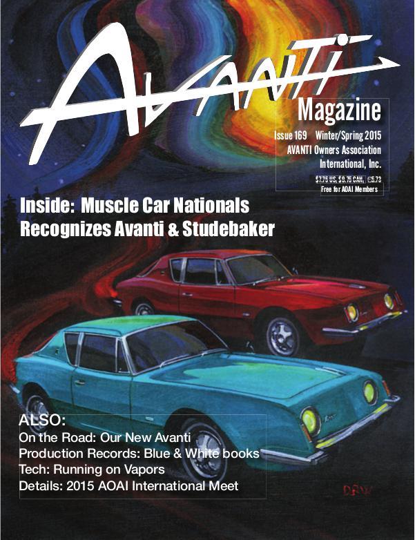 Avanti Magazine Winter/Spring 2015 #169