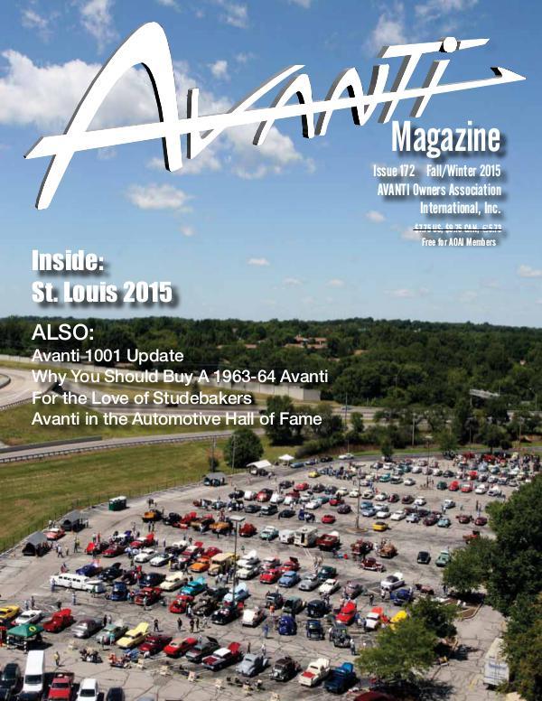 Avanti Magazine Fall/Winter 2015 #172