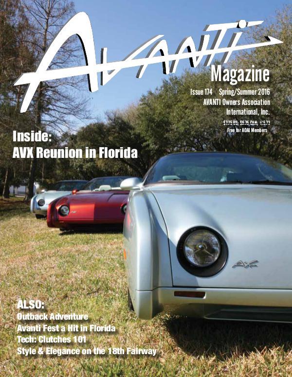 Avanti Magazine Spring/Summer 2016 #174