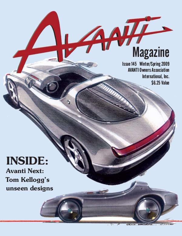 Avanti Magazine Winter/Spring 2009 #145