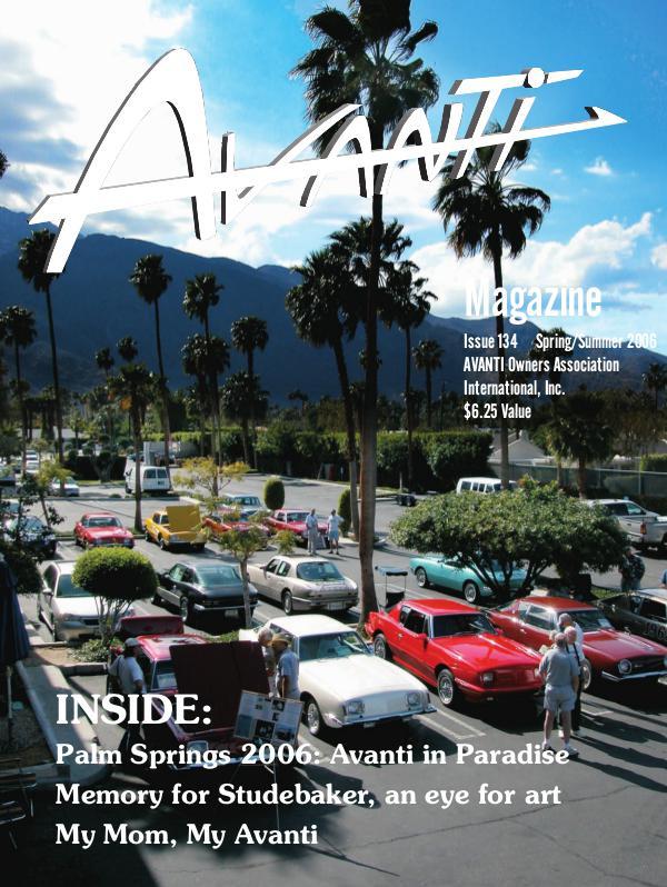 Avanti Magazine Spring/Summer 2006  #134