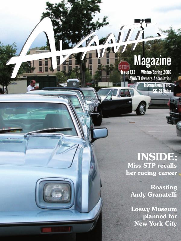 Avanti Magazine Winter/Spring 2006  #133