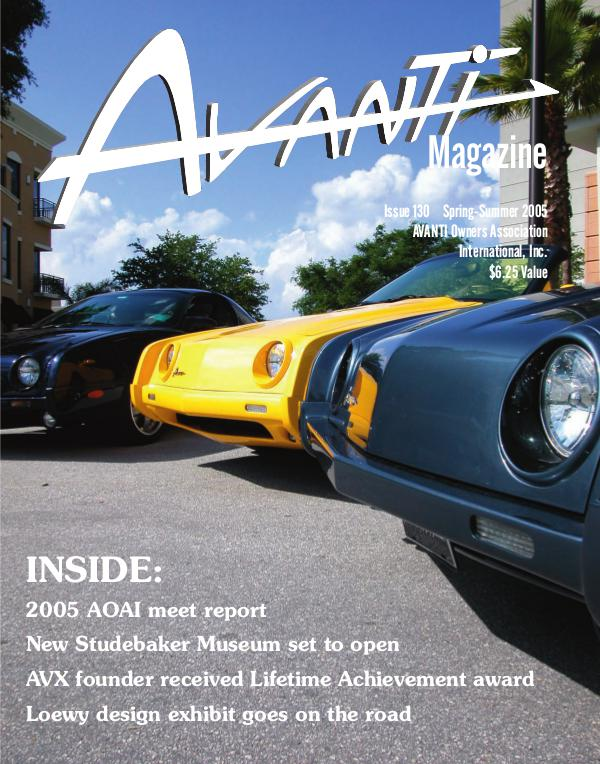 Avanti Magazine Spring/Summer 2005  #130