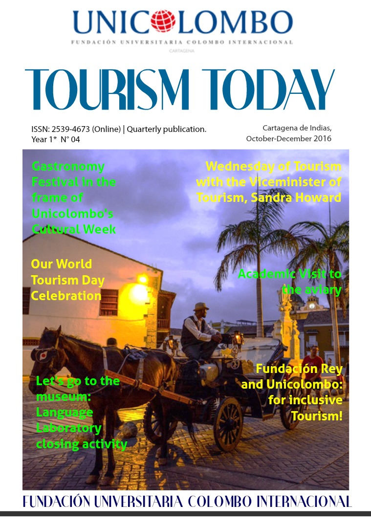 Tourism Today Tourism Today