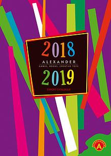 Alexander Toys Export Catalogue 2017-18