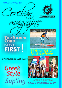 COREBAN STAND UP PADDLEBOARDING