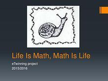 Jelena Kenić - Life Is Math, Math Is Life