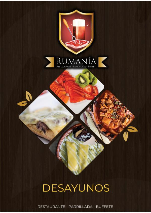 Rumania Menu