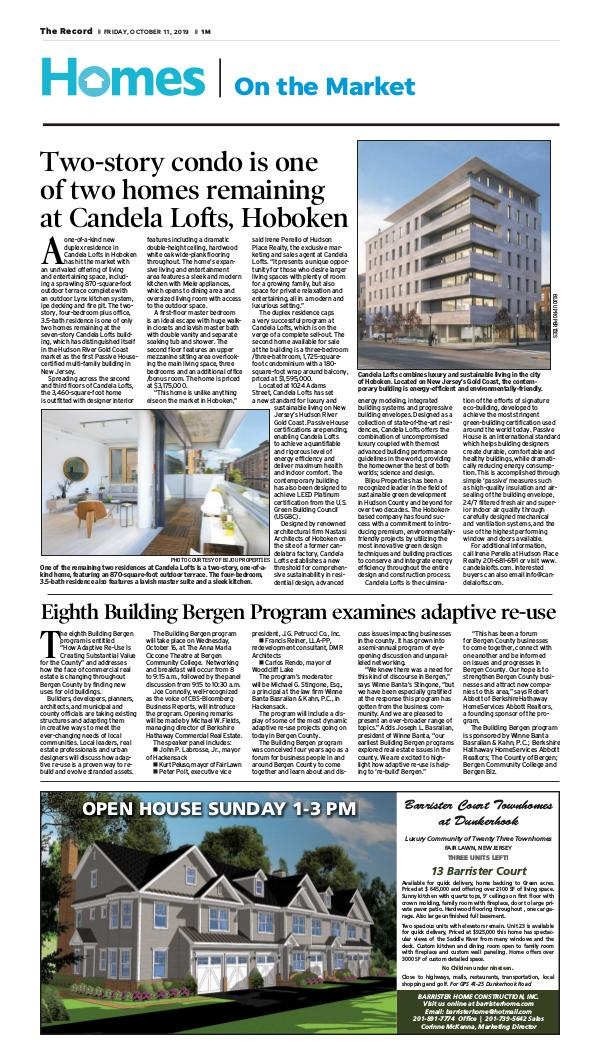 The Record Real Estate Sections Homes on the Market 10-11-2019