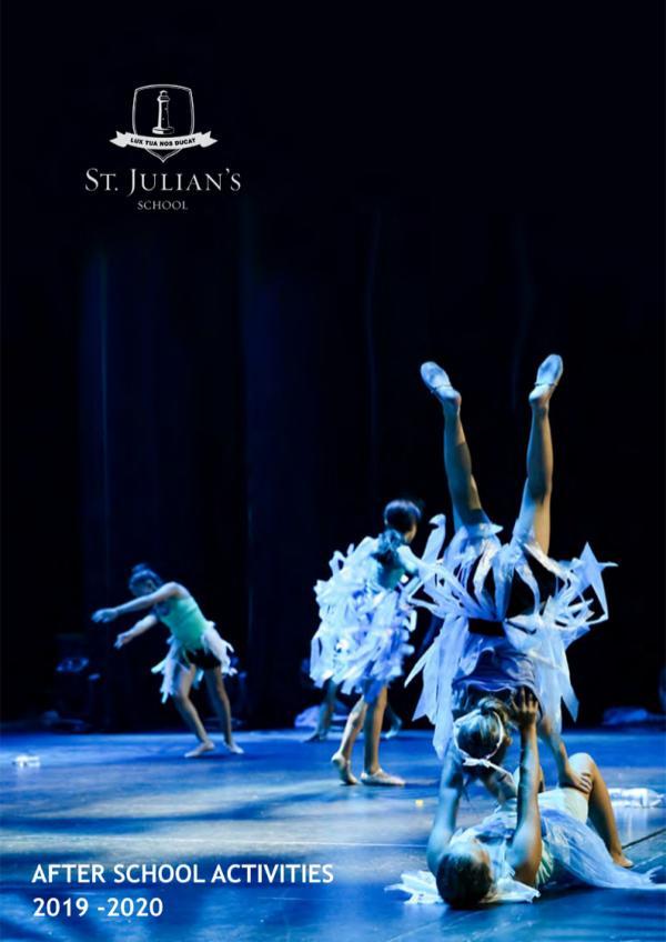 St. Julian's School ASA St. Julian's School ASA 2019-20