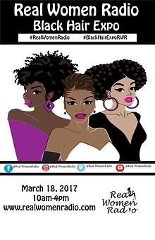 Real Women Radio Black Hair Expo