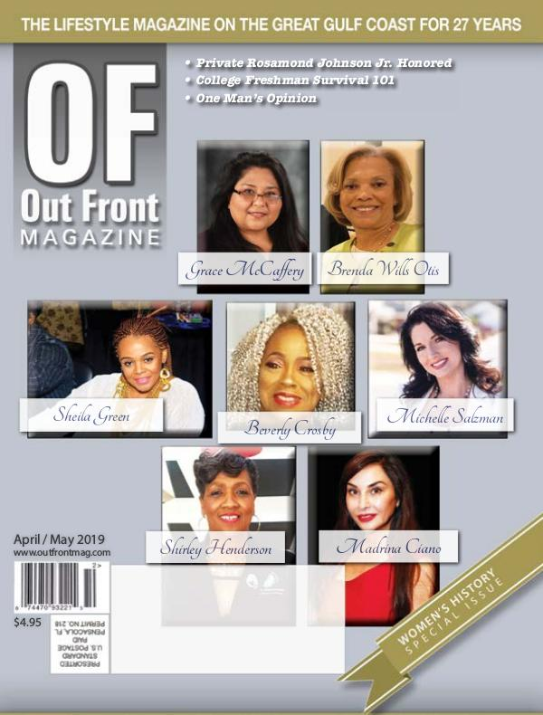 Out Front Magazine Out Front Magazine - Apr 2019