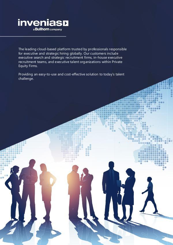 Invenias Company Overview (Americas) Invenias Company Overview (Americas)