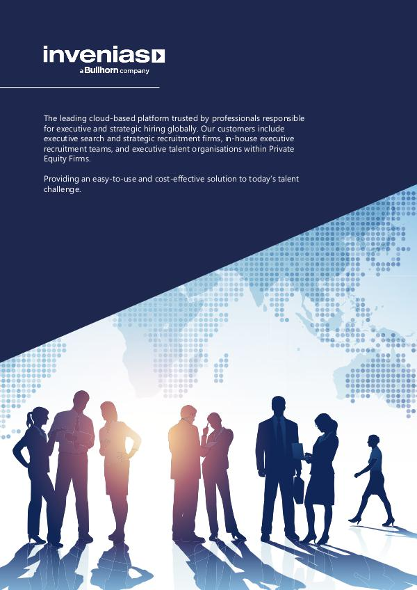 Invenias Company Datasheet (APAC) Company Overview Datasheet (APAC)