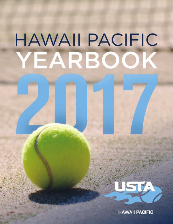 2017 USTA Hawaii Pacific Yearbook September