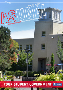 ASUNM Student Government Volume 1 Issue 1
