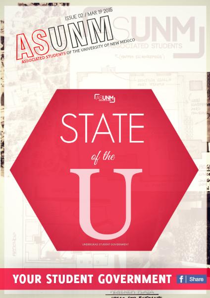 ASUNM Student Government Volume 1 Issue 1 ASUNM E-Magazine Volume 1 Issue 2