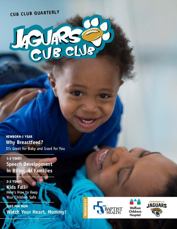 Jaguars Cub Club Newsletter Cub Club Newsletter April 2017