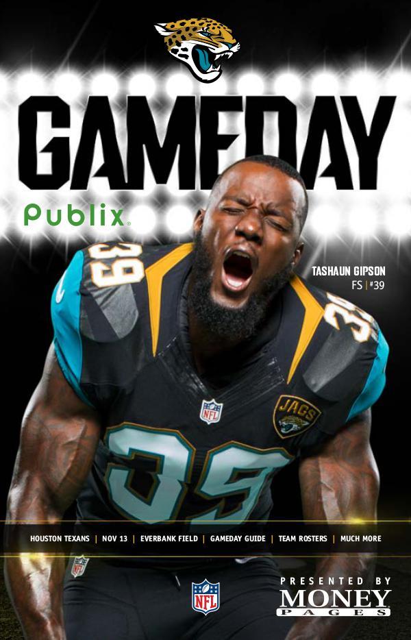 Jacksonville Jaguars Gameday Newsletter Jacksonville Jaguars Gameday Newsletter