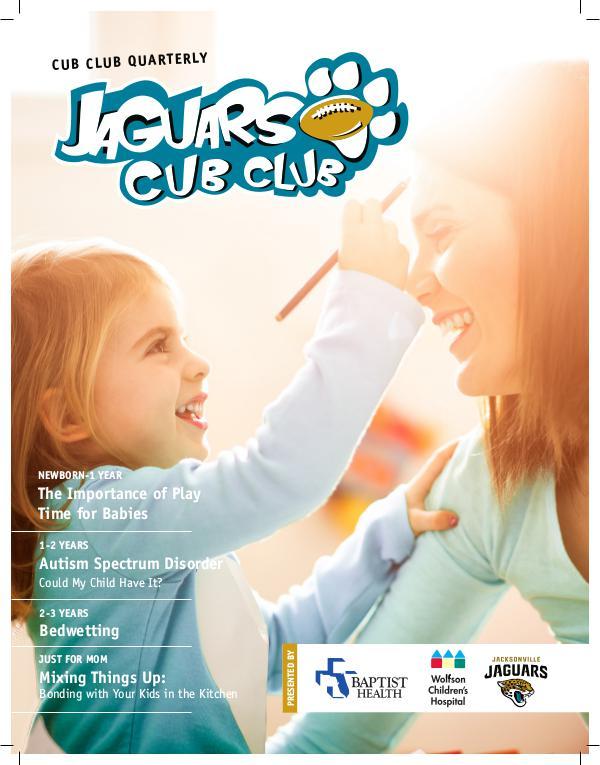 Jaguars Cub Club Newsletter 4