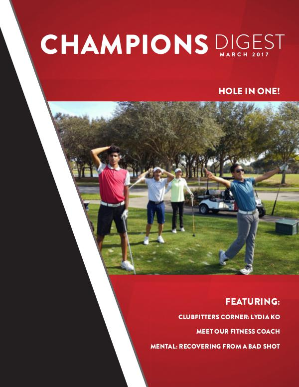 Champions Digest March 2017