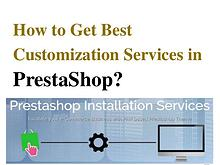 PrestaShop E-Commerce Design Services