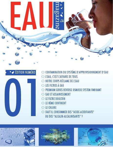 Eau Magazine CA second semestre 2014