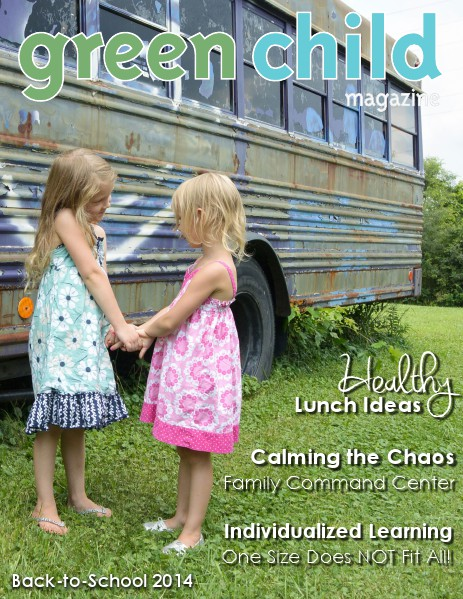 Green Child Magazine Back-to-School 2014