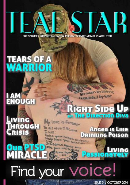 Battling BARE's Teal Star: The #PTSD Magazine October 2014, Issue 1