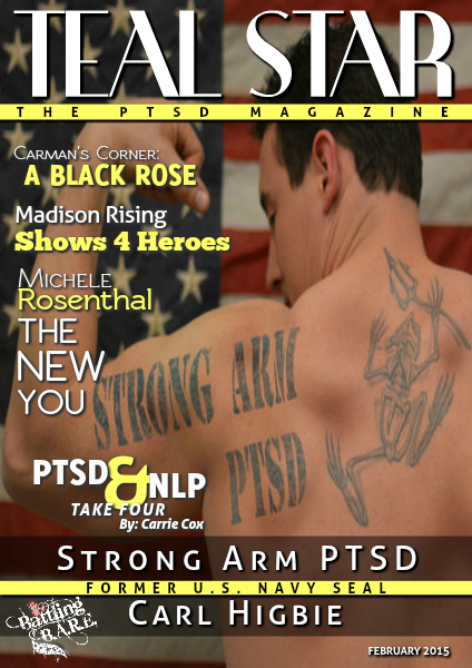 Battling BARE's Teal Star: The #PTSD Magazine February 2015