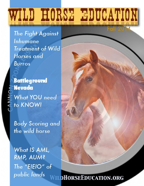 Wild Horse Education (Fall 2014) (Fall 2014)