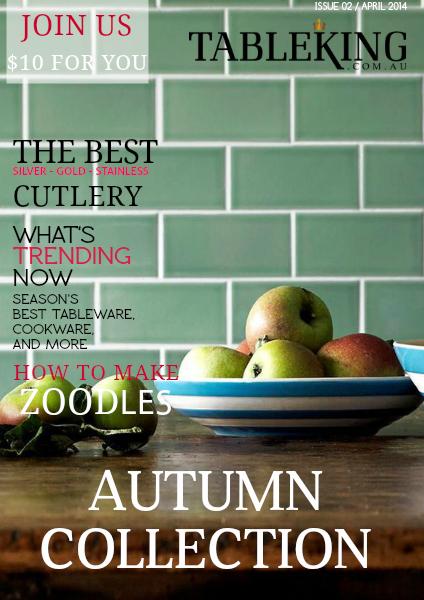 Tableking Cataolgue Autumn 2015