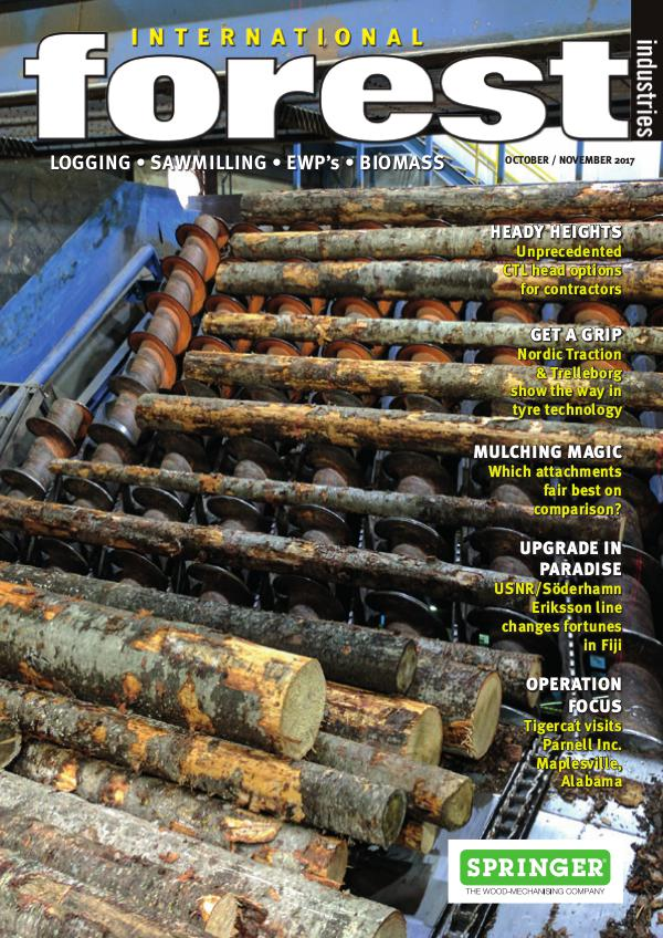2017 International Forest Industries Magazines October November 2017