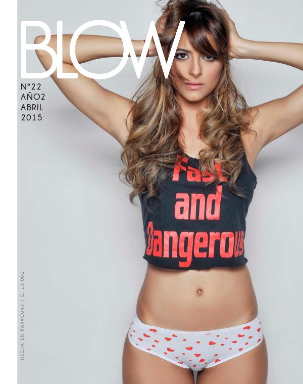 Revista Blow 2015 Abril #22