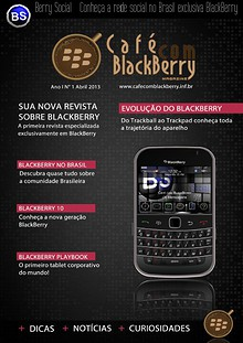 Café com BlackBerry