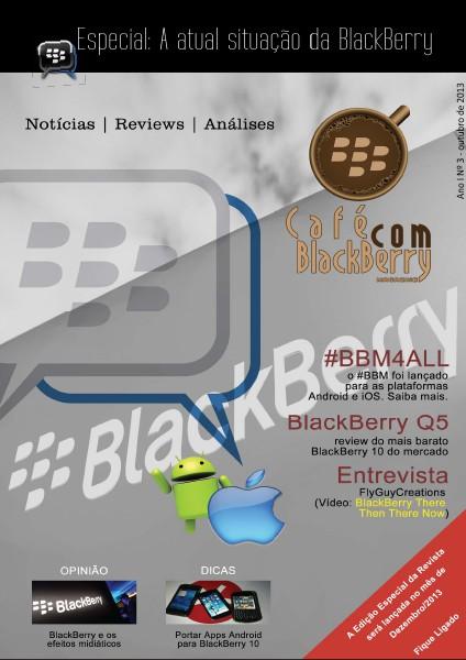 Café com BlackBerry Edição 3, Novembro 2013