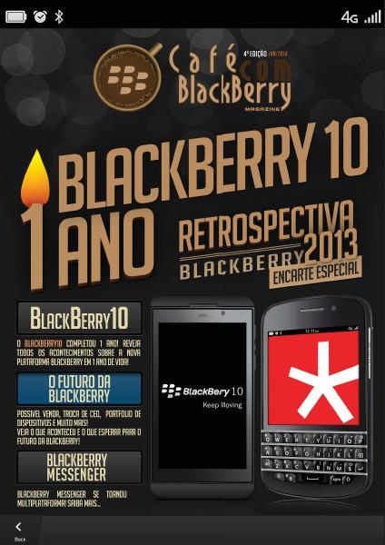 Café com BlackBerry Edição 4, Março 2014