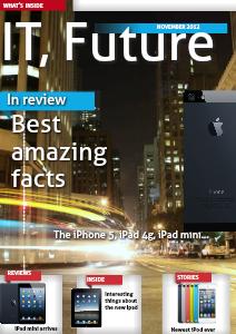 IT, the future November 2012