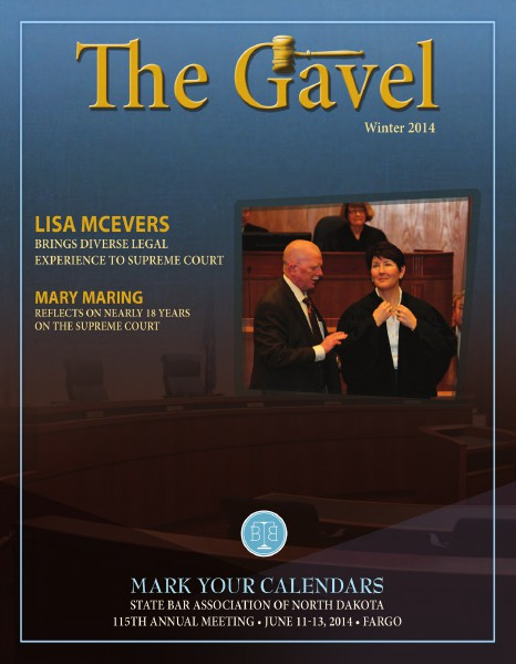 Winter 2014 Gavel Magazine