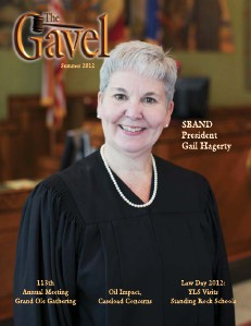 The State Bar Association of North Dakota August 2012 Gavel Magazine