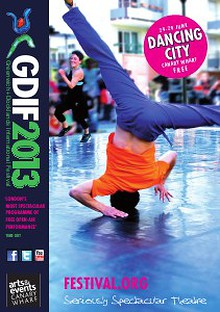 Dancing City at Canary Wharf