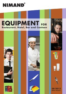Equipment for Restaurant, Hotel, Bar and Canteen