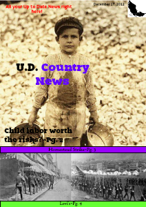 UD Country News Dec. 13