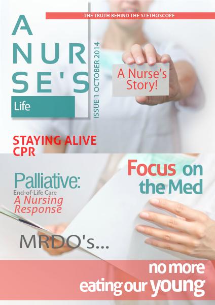 A Nurse's Life: Magazine Volume 1